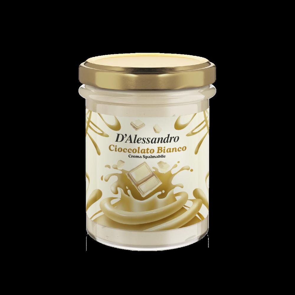 Spalmabile Cioccolato Bianco - D'Alessandro Confetture